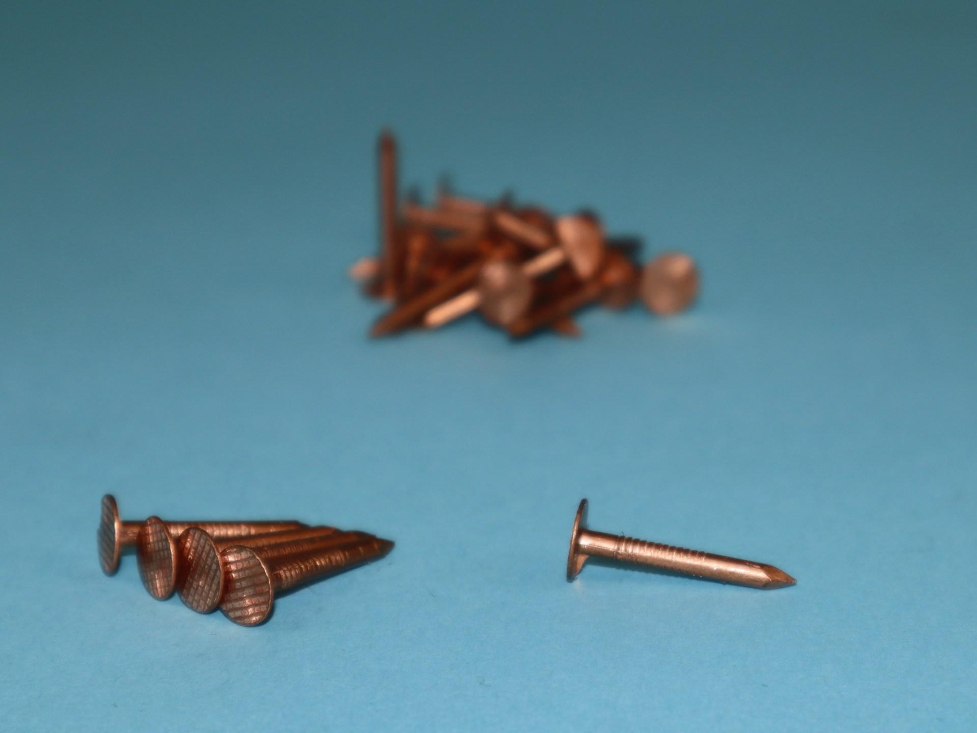 Schieferstifte Kupfer