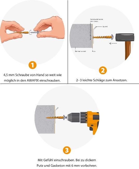 Dämmstoffdübel AWAFIX - Dübel für WDVS