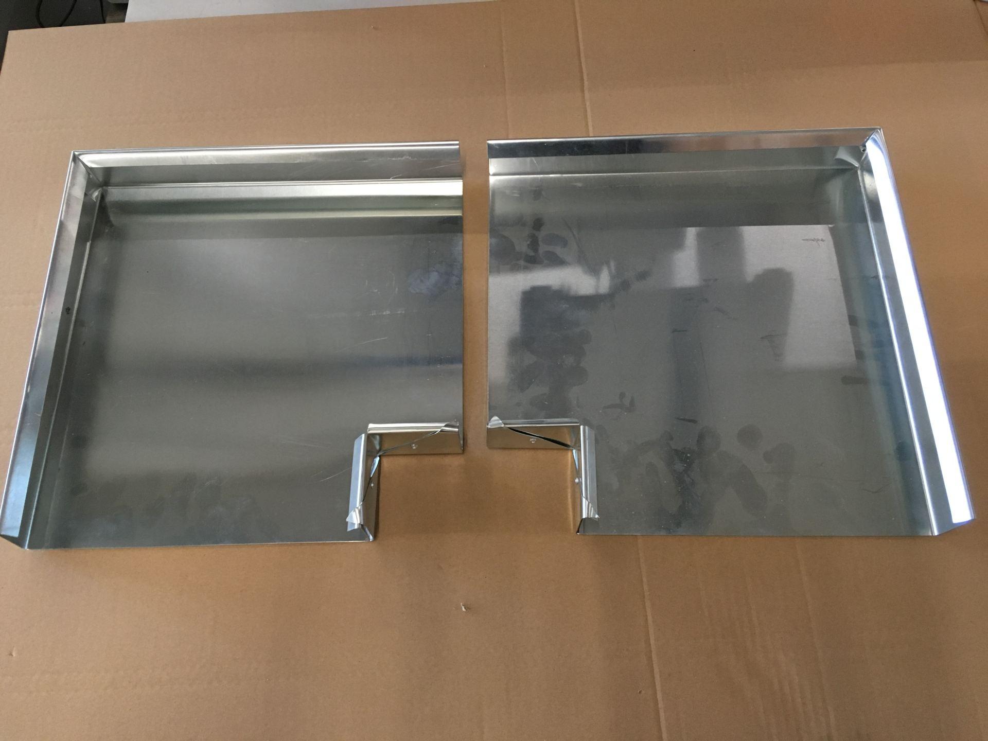 Mauerabdeckung Ecken in Titanzink, Abdeckungsbreite 25cm