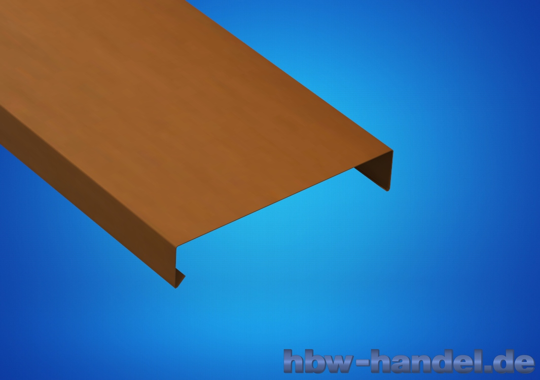 Mauerabdeckung Kupfer