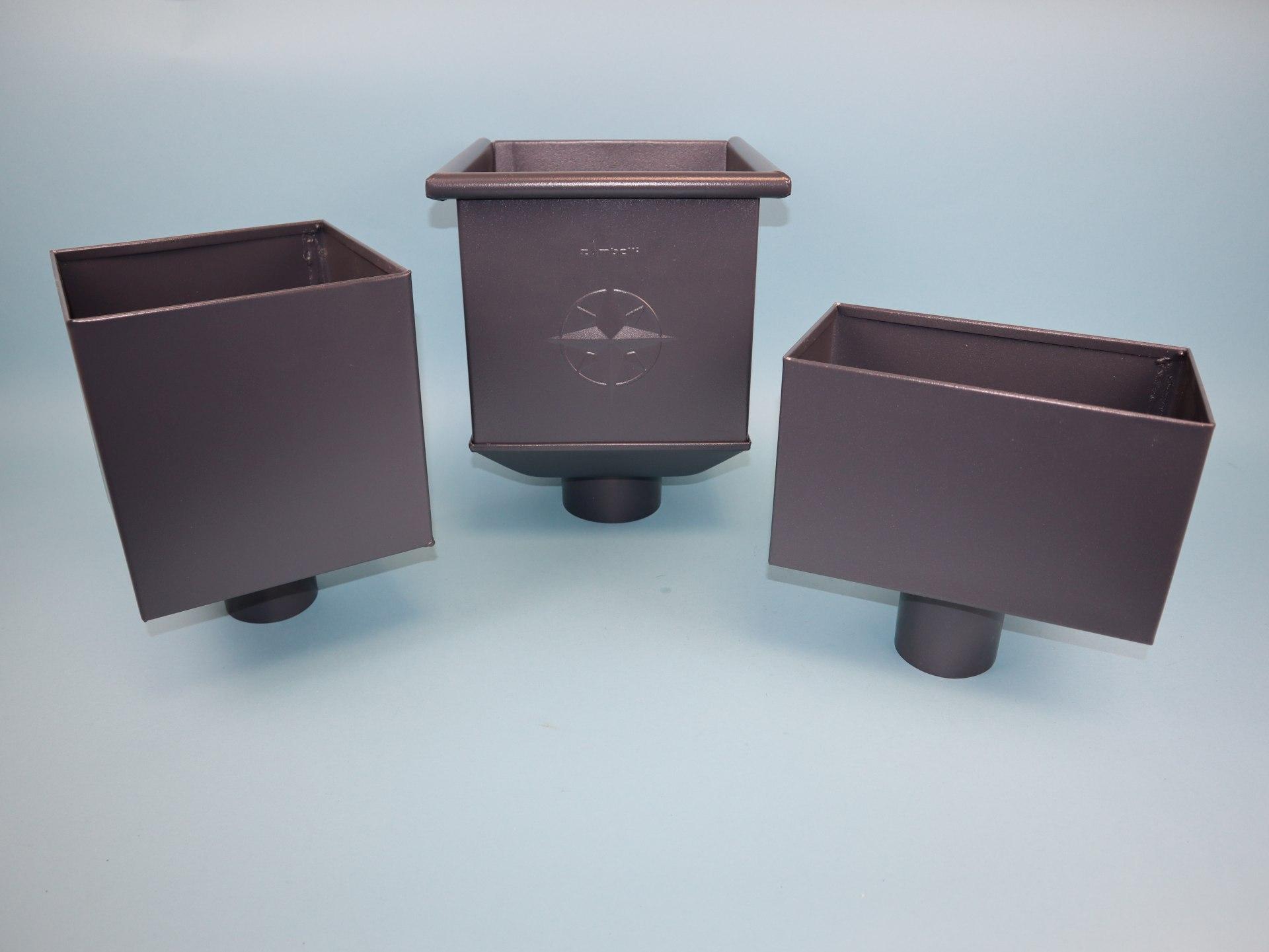 Wasserfangkasten, Rinnenkessel ROBUST System - anthrazit in verschiedenen Ausführungen
