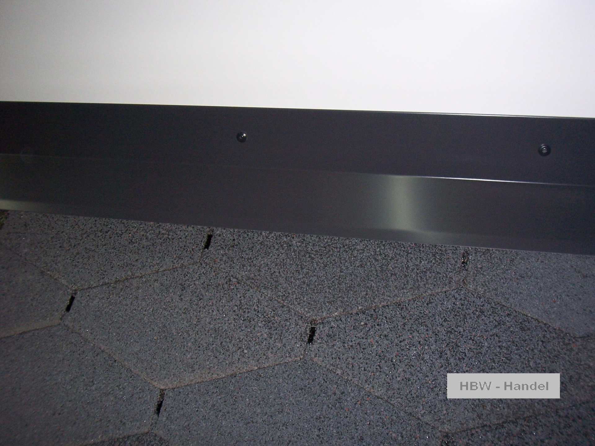 Brustblech Aluminium farbbeschichtet