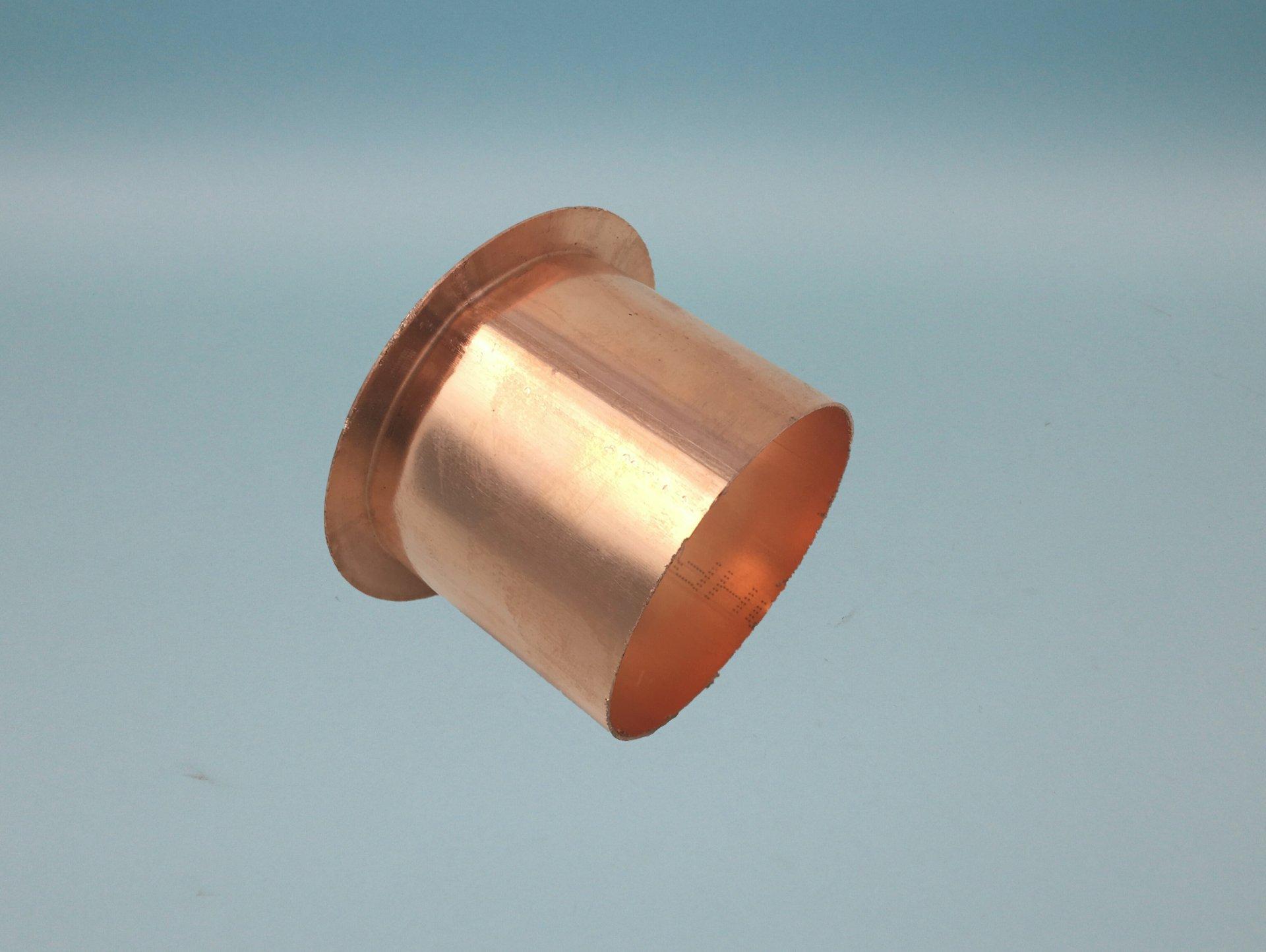 Ablaufstutzen Ø=60mm Kupfer zum kleben/löten