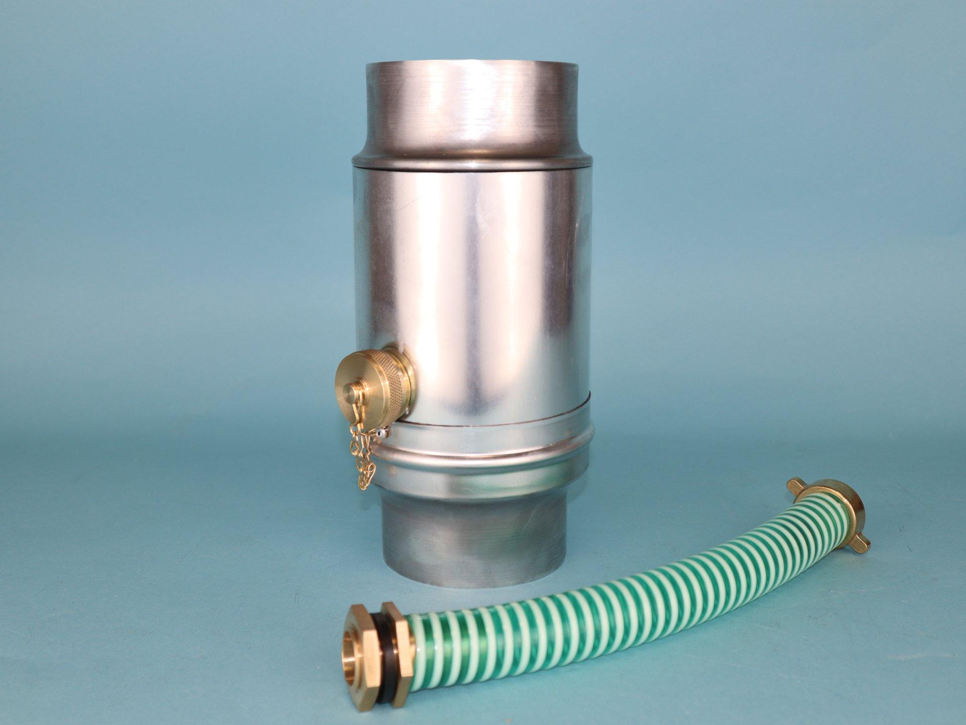 Jumbo - Regenwassersammler inkl. Schlauchanschluss-Set und Verschlusskappe