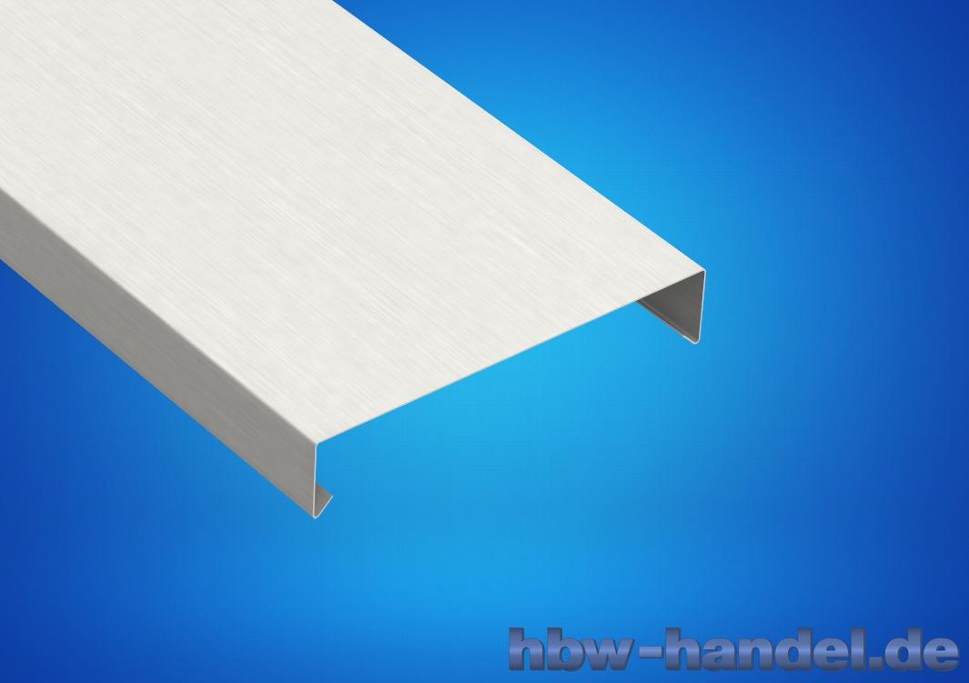 Mauerabdeckung Aluminium natur