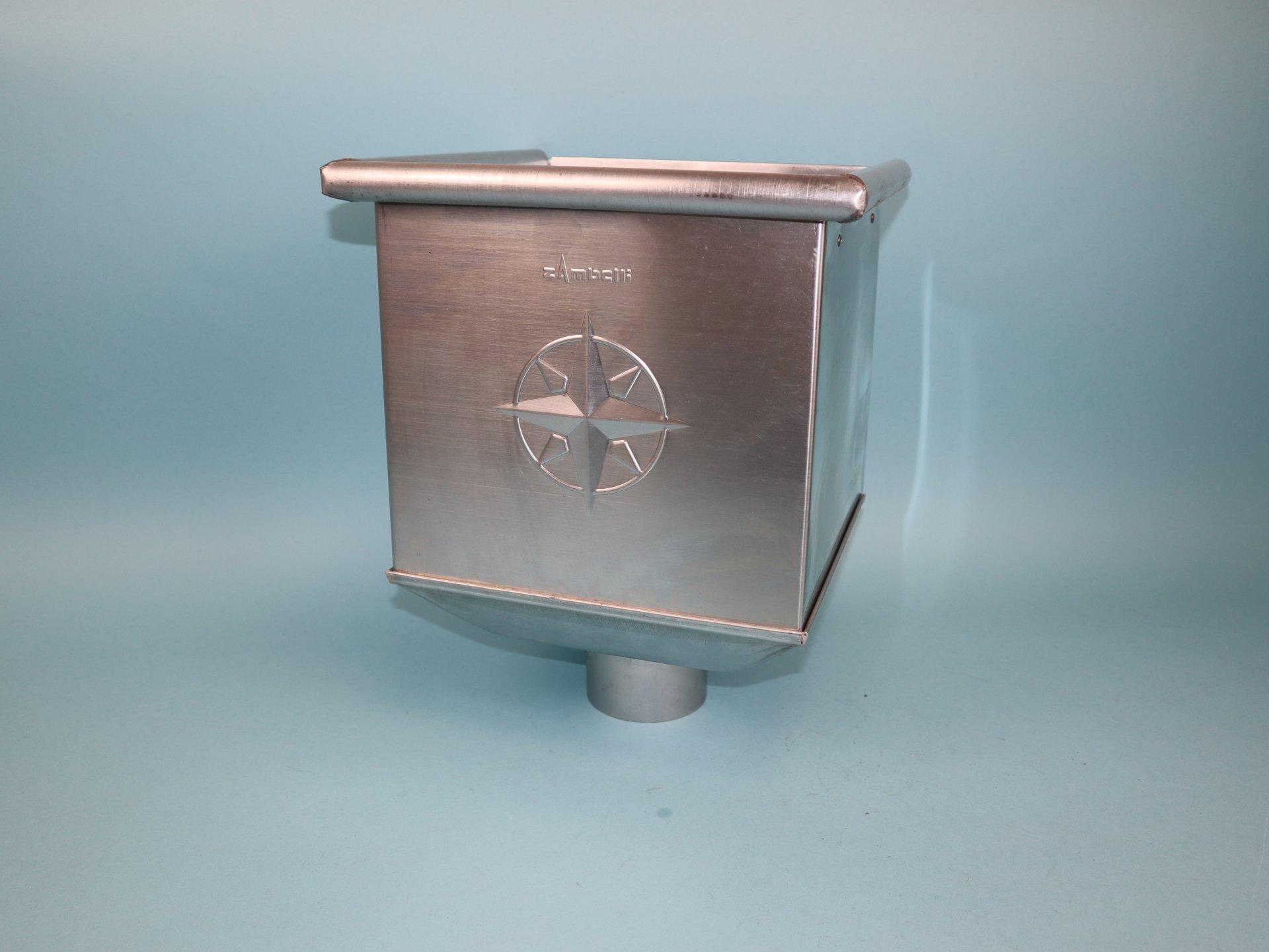 Wasserfangkasten, Rinnenkessel Titanzink in verschiedenen Ausführungen