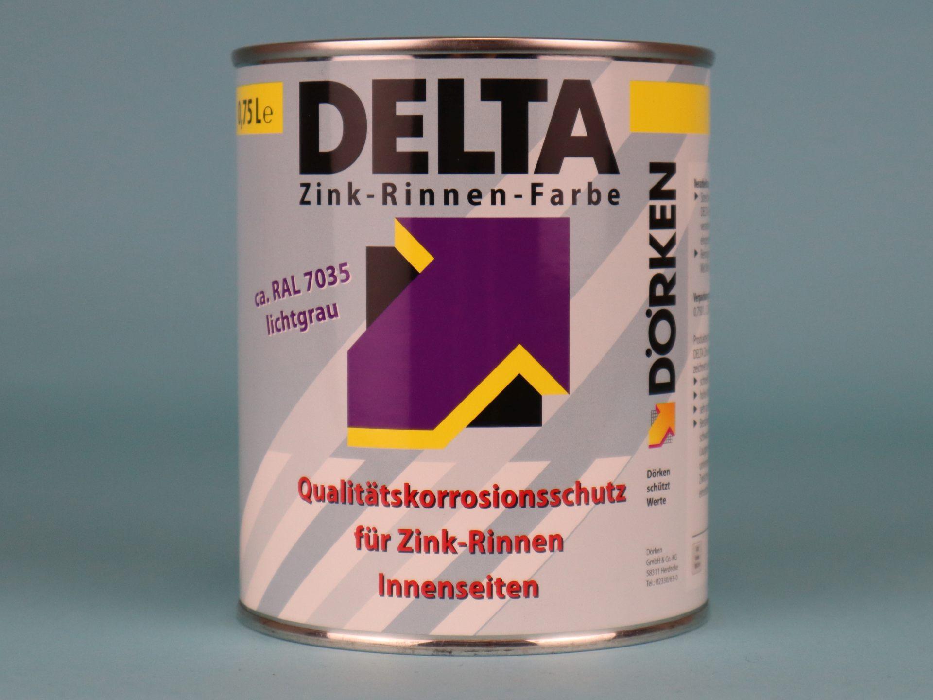 Delta-Zink-Rinnen-Farbe