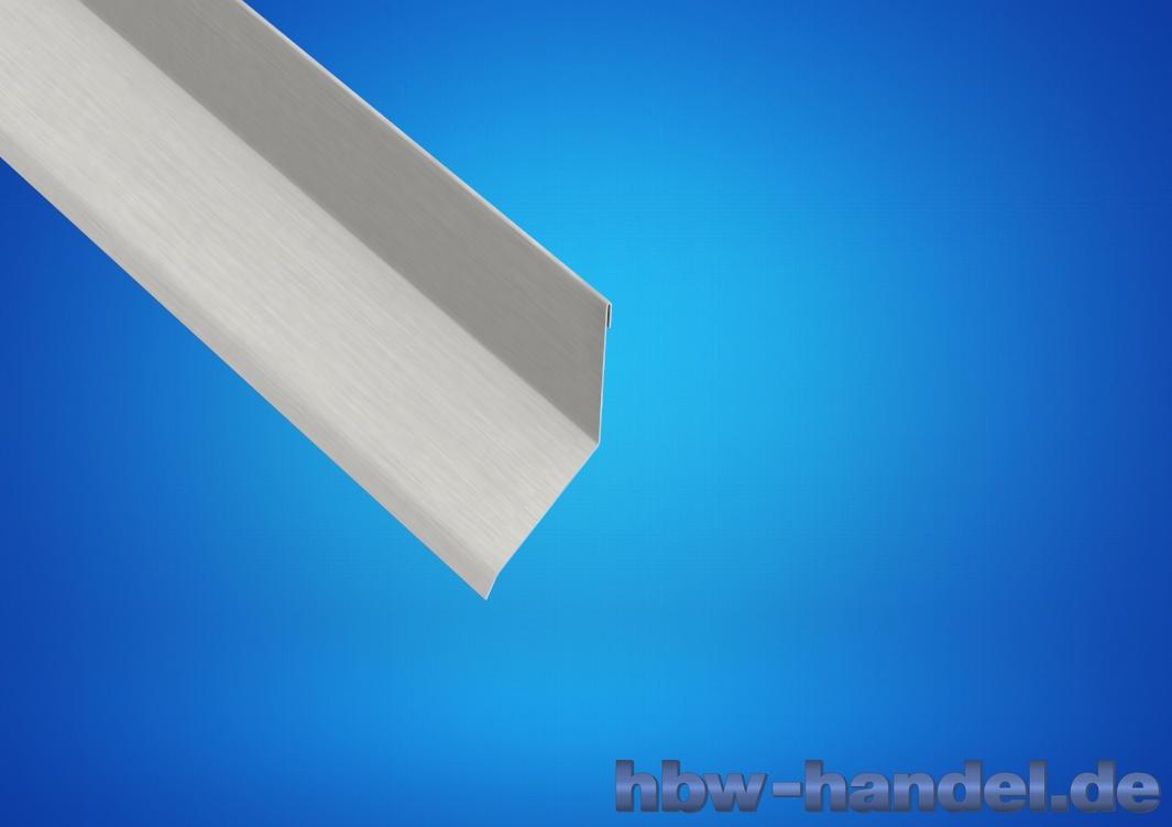 Brustblech Aluminium natur