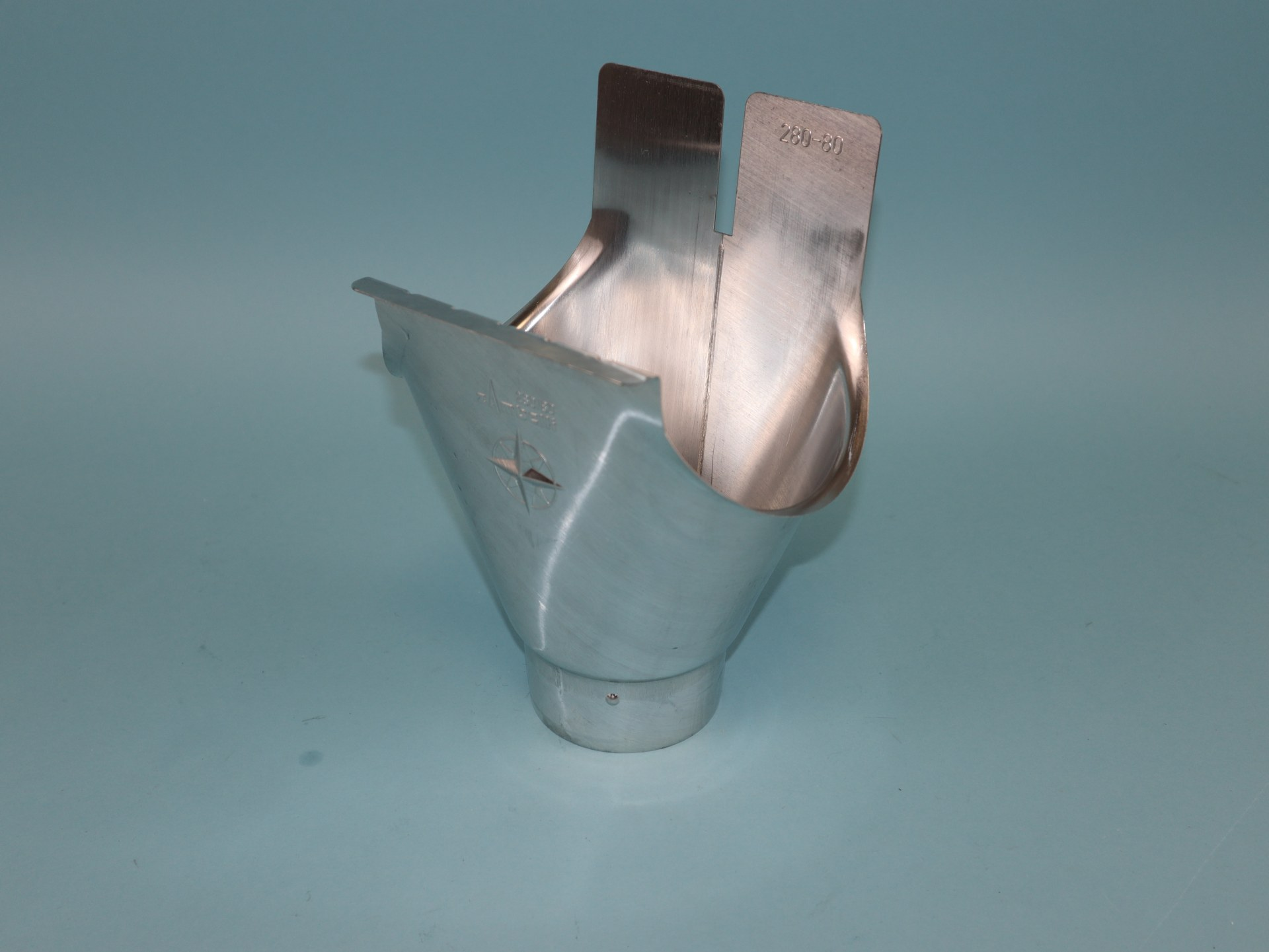 Einhangstutzen Aluminium