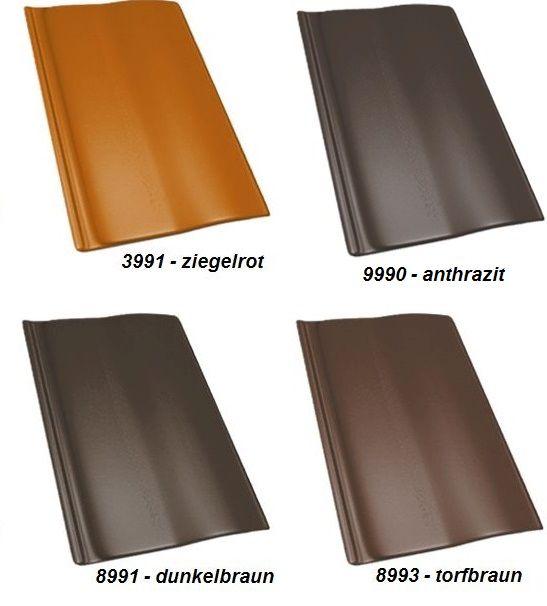 Delta-Dachcolor Dachfarbe in verschiedenen Farbtönen