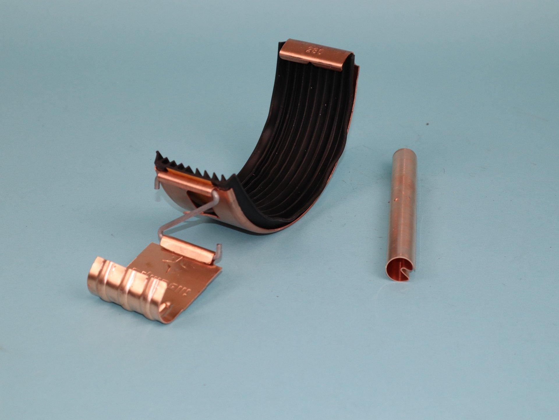 Dachrinnenverbinder Kupfer