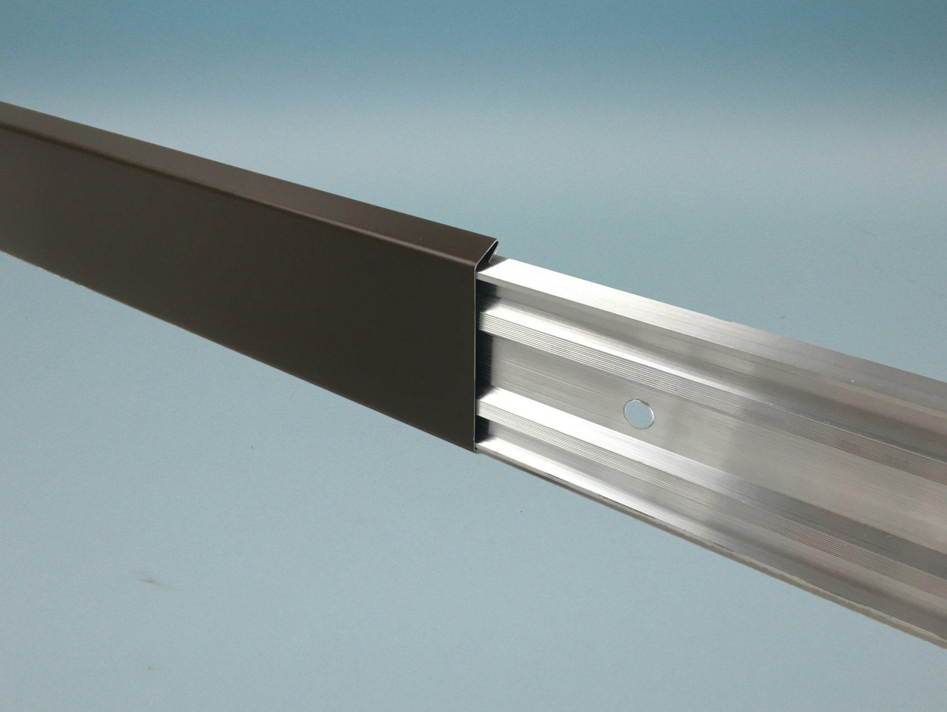 Wandanschlussprofil Aluminium stranggepresst - Kappleiste