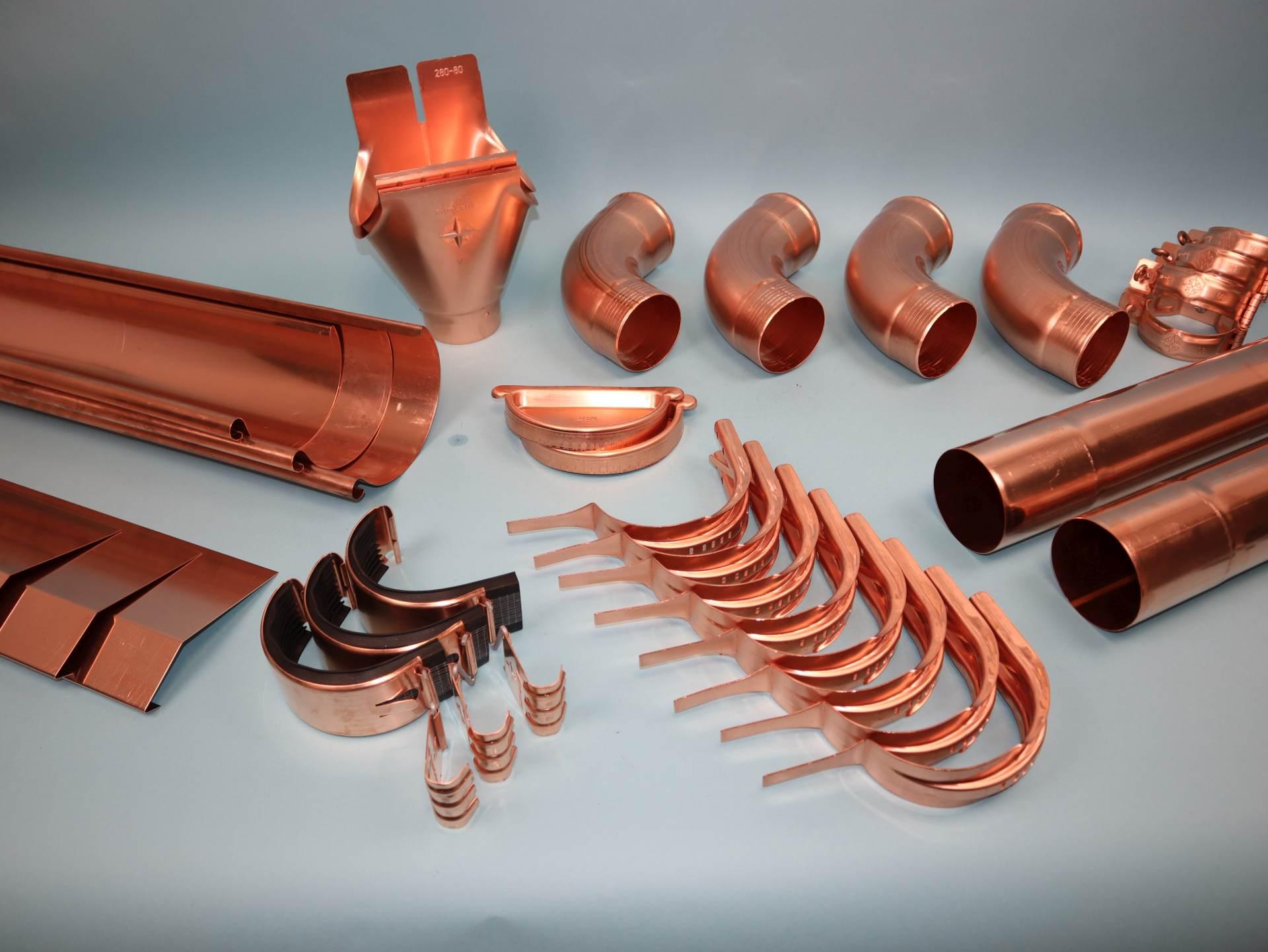 Konfigurator Kupfer Dachrinne