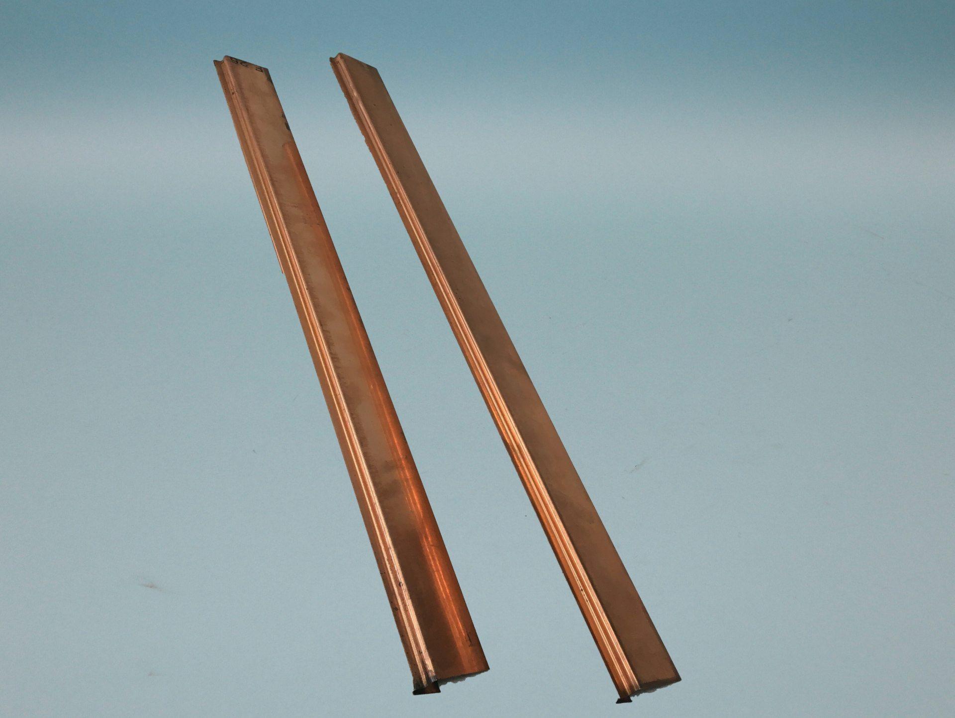 Überhangsteckrahmen und Zubehör in verschiedenen Materialien
