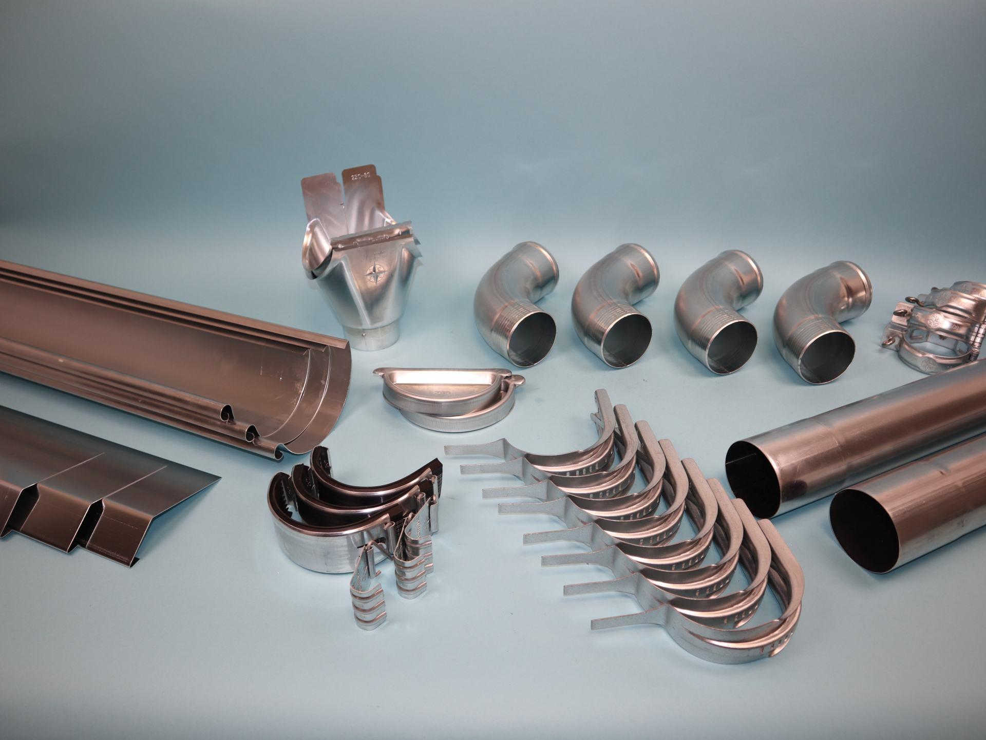 Konfigurator Aluminium Dachrinne
