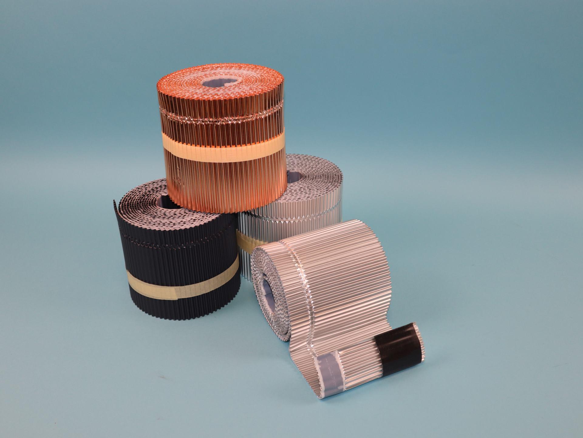 MAGE Anschlussschürze mit durchgängiger Plissierung als Meterware, Material auswählbar