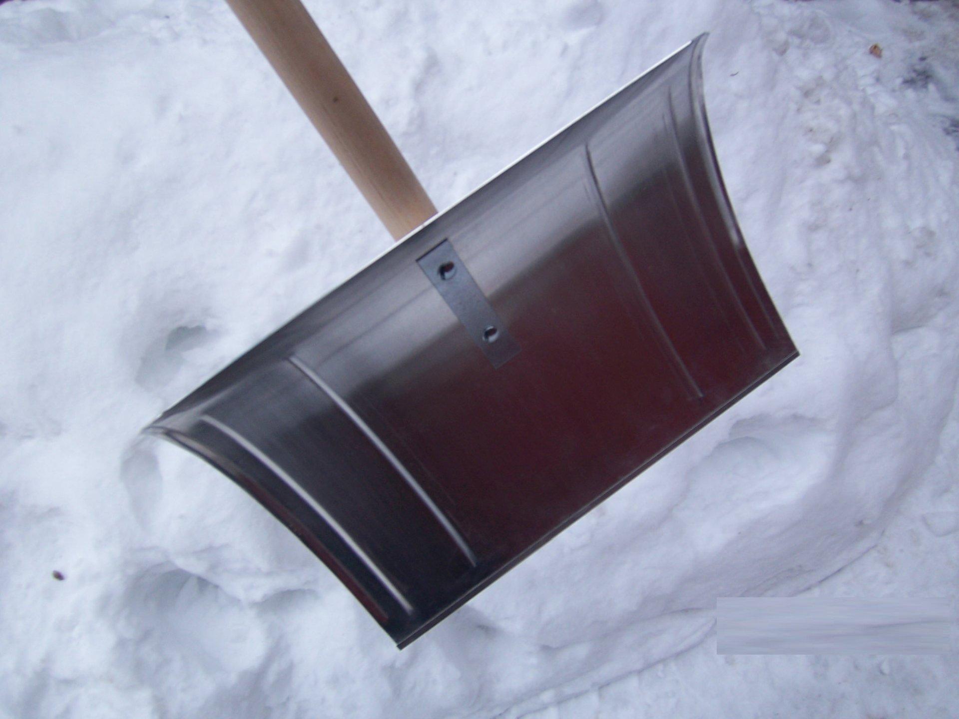 Schneeschieber aus Aluminium REDUZIERT