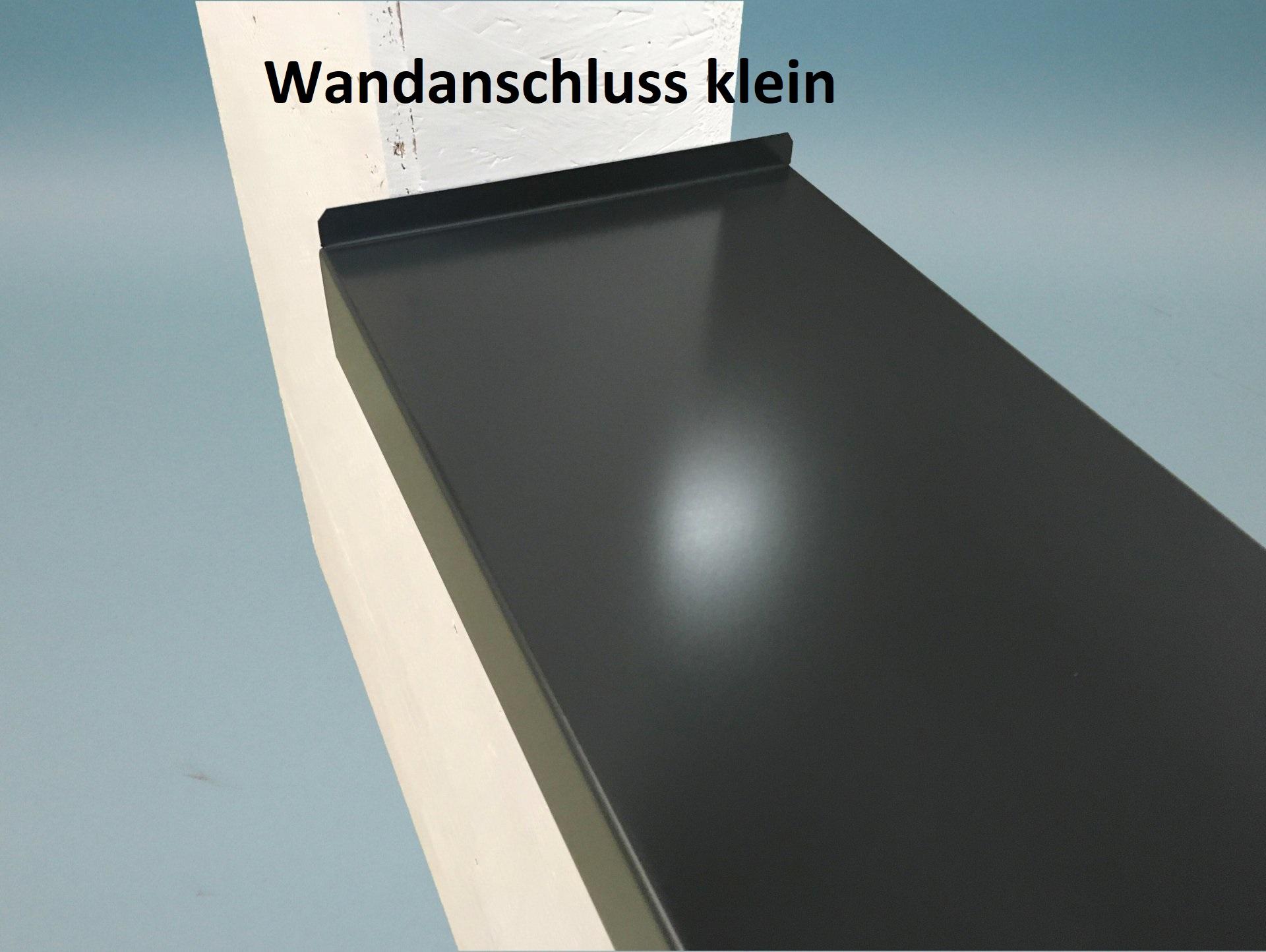 Endstück oder Wandanschluss