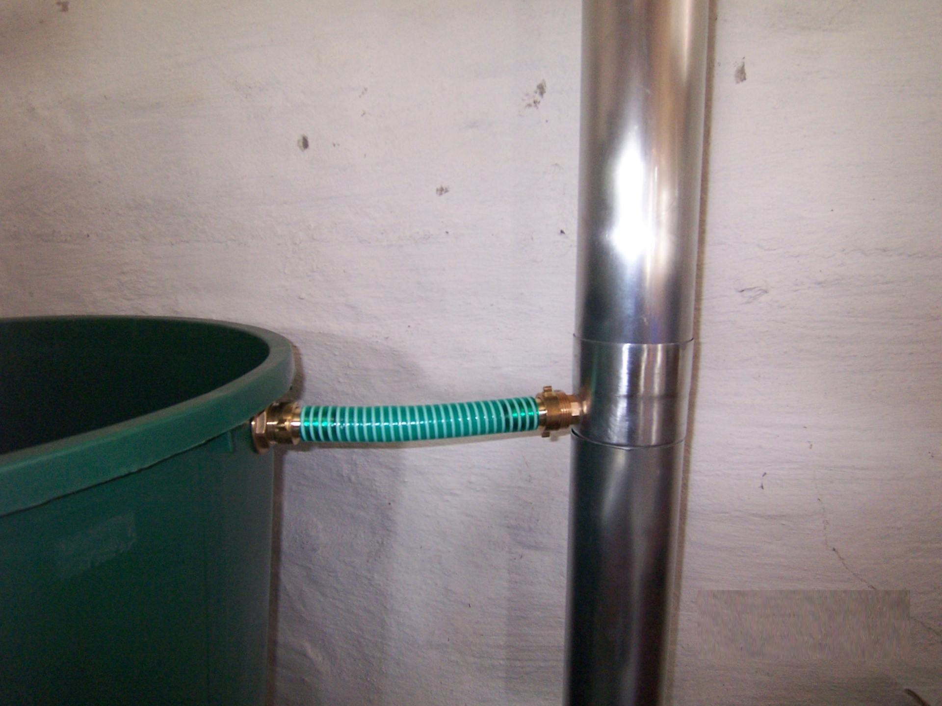 Regenwassersammler Titanzink - Komplettset