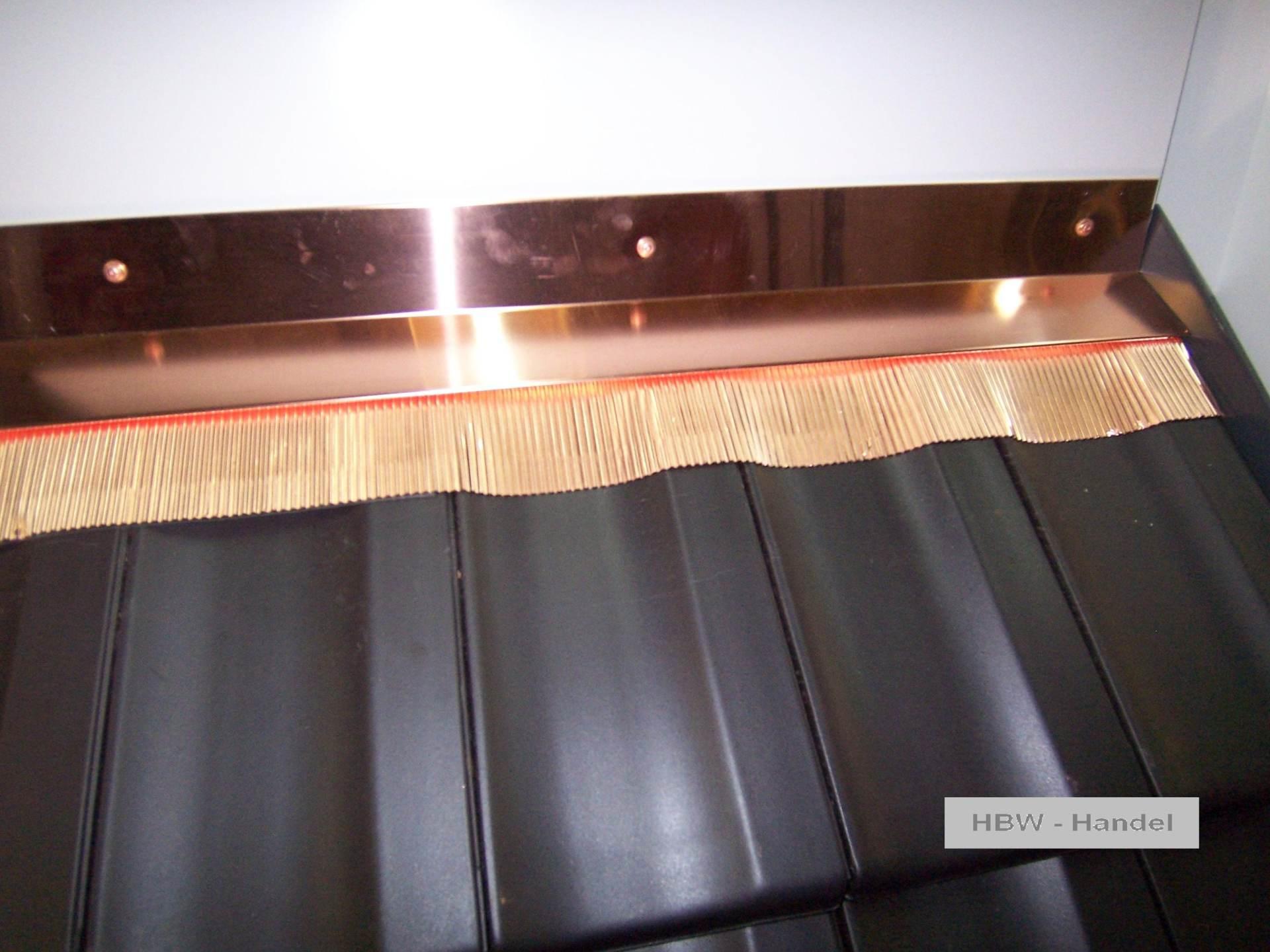 Brustblech mit Schürze Kupfer