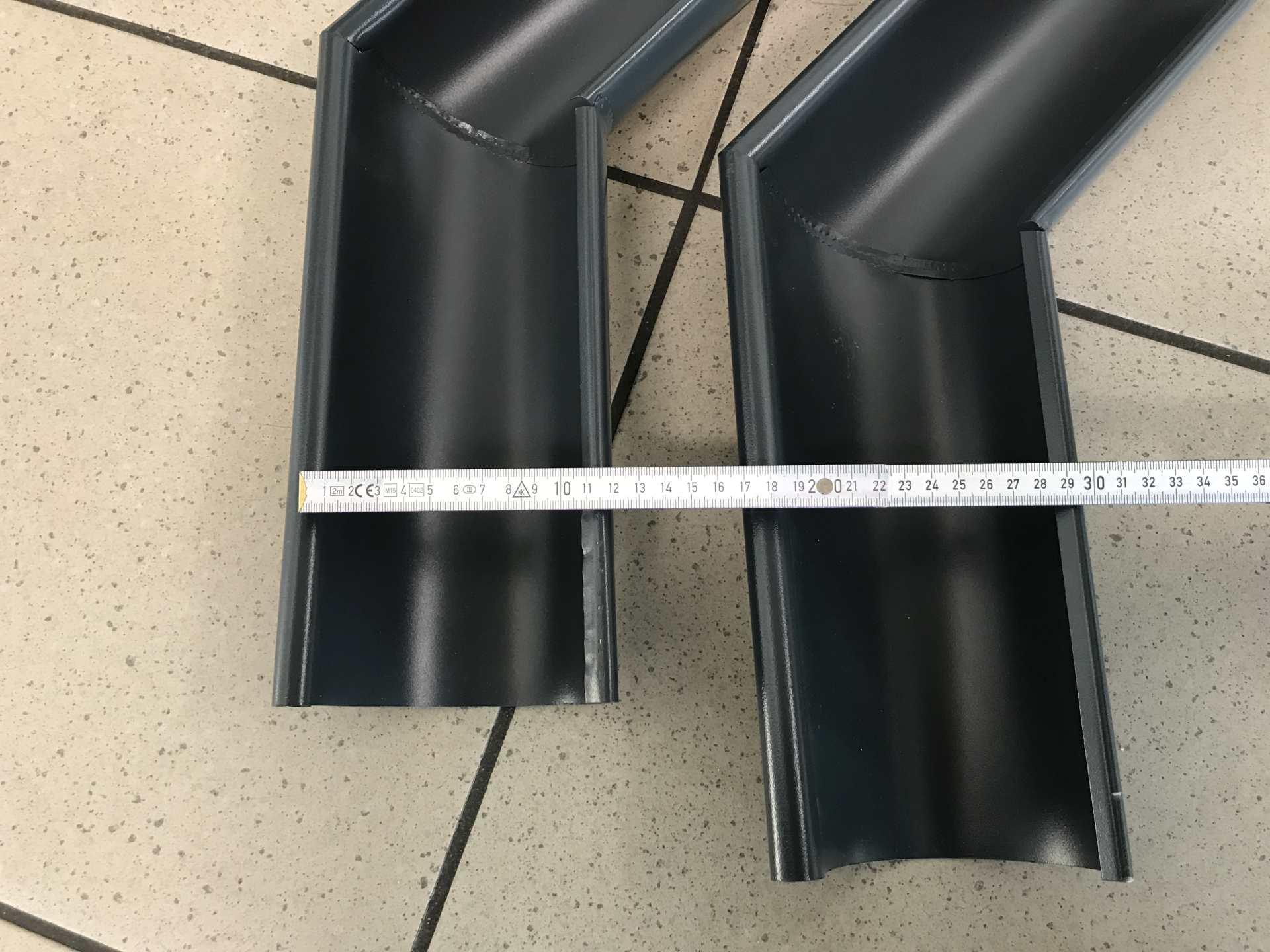 Restposten Rinnenwinkel ROBUST System anthrazit mit 135° Winkel